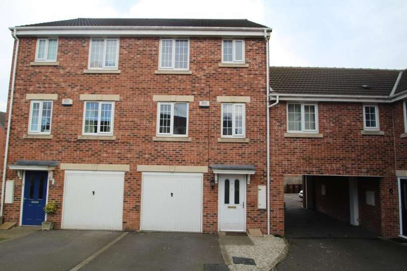 4 Bedrooms Terraced House for sale in BLENKINSOP WAY, NEW FOREST VILLAGE, LEEDS, LS10 4GG