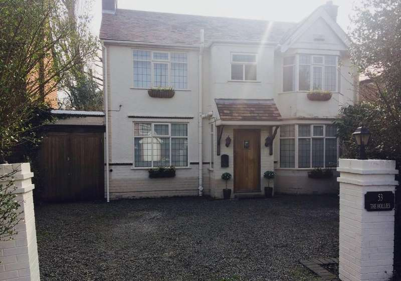 4 Bedrooms Detached House for sale in Tanworth Lane, Shirley
