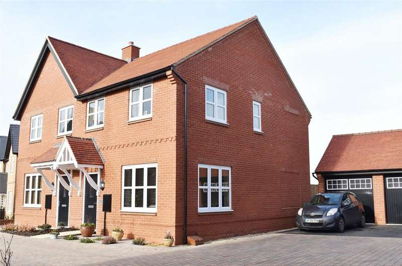 3 Bedrooms Semi Detached House for sale in Millground Field, Winslow