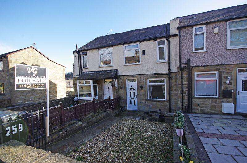 2 Bedrooms Terraced House for sale in Saddleworth Road, Greetland, HX4 8LZ