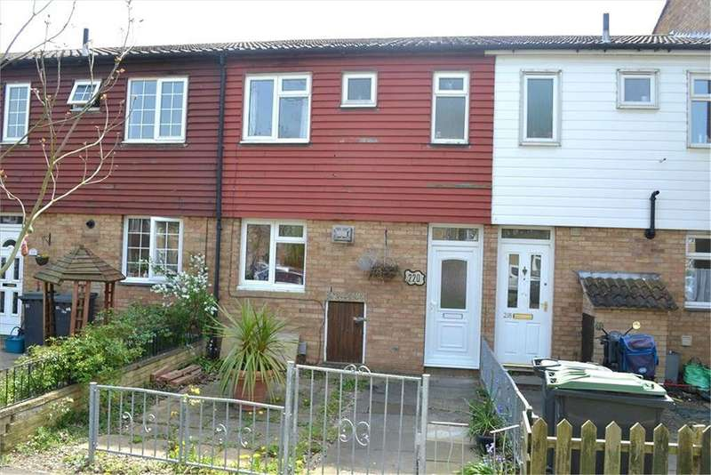3 Bedrooms Terraced House for sale in Winchester Road, Sandy, SG19