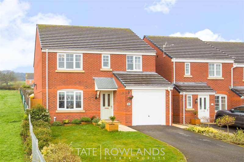 4 Bedrooms Detached House for sale in Ffordd Yr Ysgol, Flint