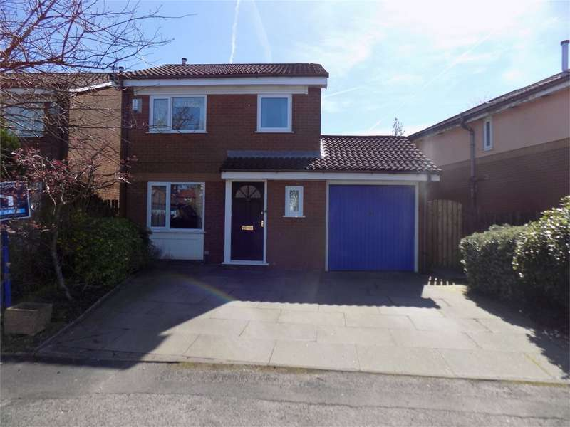3 Bedrooms Detached House for sale in Brindley Close, Farnworth, Bolton, Lancashire