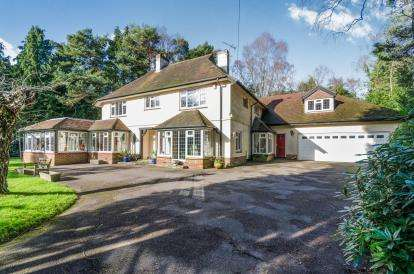 5 Bedrooms Detached House for sale in Chilworth, Southampton, Hampshire