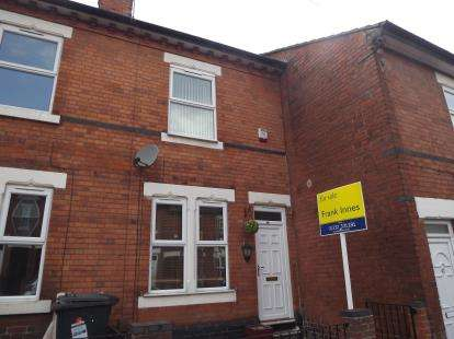 2 Bedrooms Terraced House for sale in Sackville Street, Derby, Derbyshire