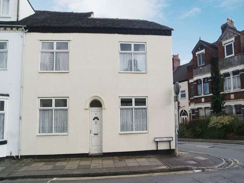 3 Bedrooms Terraced House for sale in St John Street, Hanley, Stoke-On-Trent, ST1 2HR