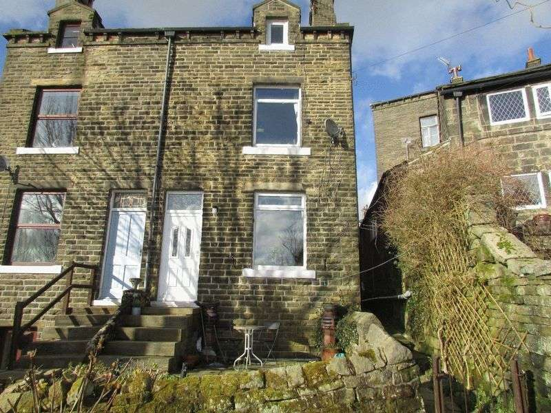 3 Bedrooms Semi Detached House for sale in Black Hill, Pecket Well, Hebden Bridge