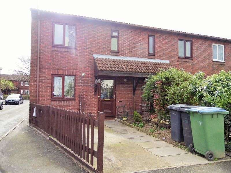 3 Bedrooms Terraced House for sale in Briscoe Close