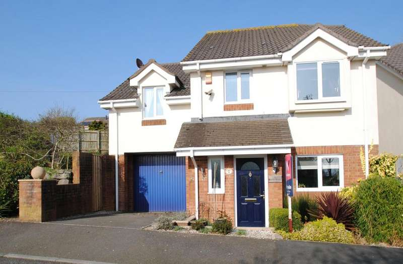 4 Bedrooms Detached House for sale in Hawley Manor, Barnstaple
