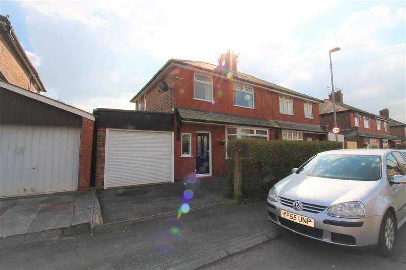 3 Bedrooms Semi Detached House for sale in Springfield Avenue, Warrington