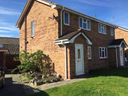 2 Bedrooms Semi Detached House for sale in Lon Glanfor, Abergele, Conwy, LL22
