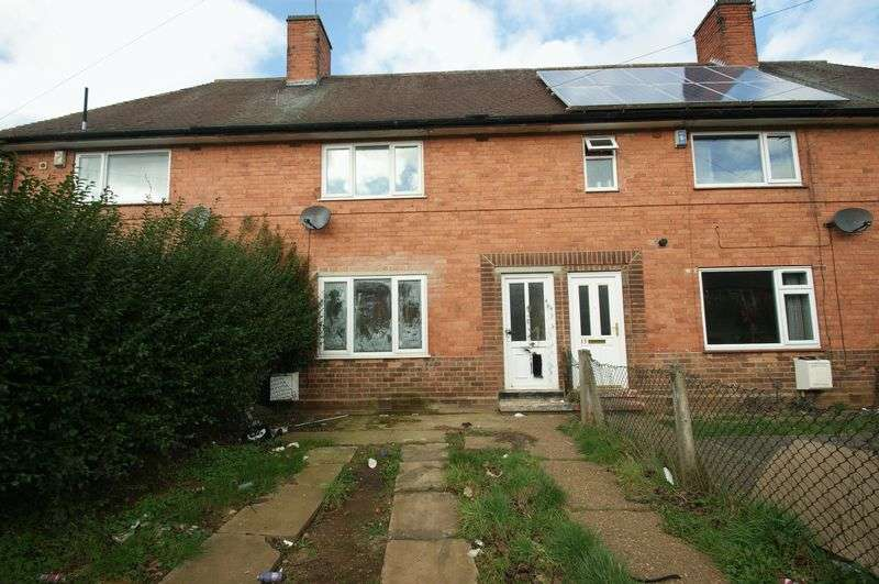 3 Bedrooms Terraced House for sale in Bidford Road, Nottingham