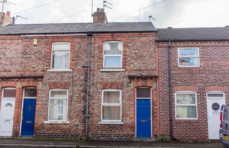 2 Bedrooms Terraced House for sale in Ambrose Street, YORK