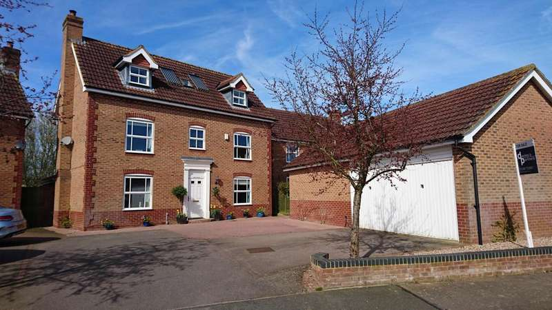 4 Bedrooms Detached House for sale in Heron Drive, Brackley