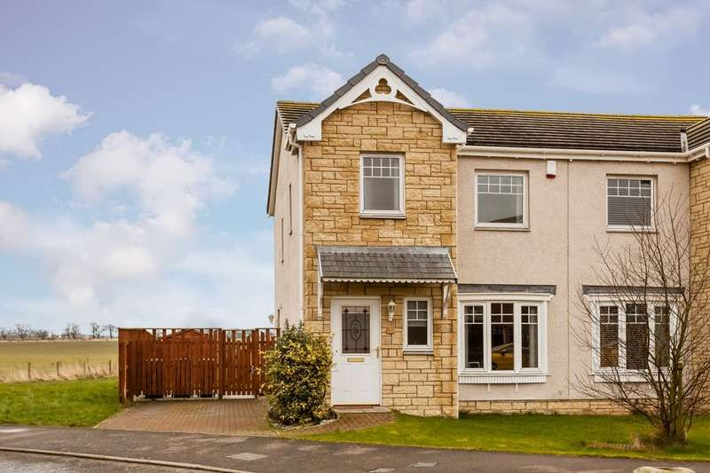 3 Bedrooms Semi Detached House for sale in Orchard Way, Inchture, Perth, PH14