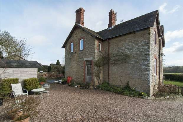 3 Bedrooms Semi Detached House for sale in 9 Norton, Onibury, Shropshire