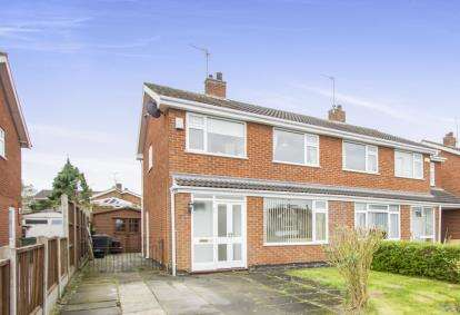 3 Bedrooms Semi Detached House for sale in Buckingham Drive, Loughborough, Leicestershire, Loughborough
