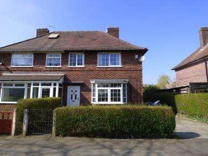 3 Bedrooms Semi Detached House for sale in Carloon Road, Northern Moor, Manchester, Greater Manchester