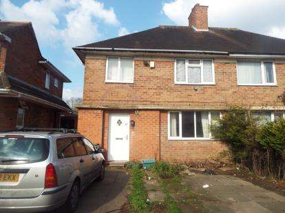 3 Bedrooms Semi Detached House for sale in Lea Hall Road, Birmingham, West Midlands