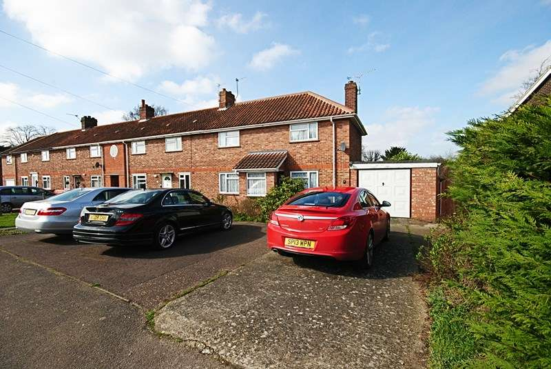 3 Bedrooms End Of Terrace House for sale in Uplands Way, Diss