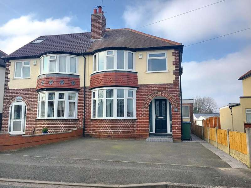3 Bedrooms Semi Detached House for sale in STANLEY ROAD, WEST BROMWICH, WEST MIDLANDS, B71 3JQ