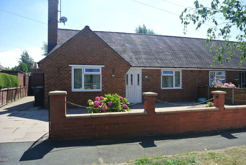 2 Bedrooms Semi Detached Bungalow for sale in Lichfield Avenue, Evesham