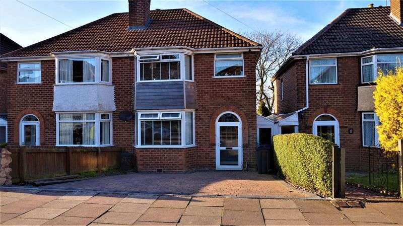 3 Bedrooms Semi Detached House for sale in Green Acres Road, Kings Norton, Birmingham