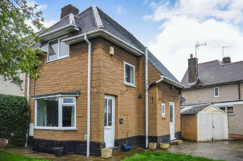3 Bedrooms Terraced House for sale in Audrey Crescent, Mansfield