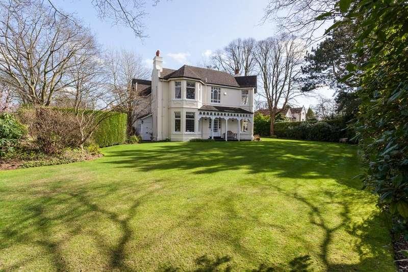 5 Bedrooms Detached House for sale in Harrop Road, Hale