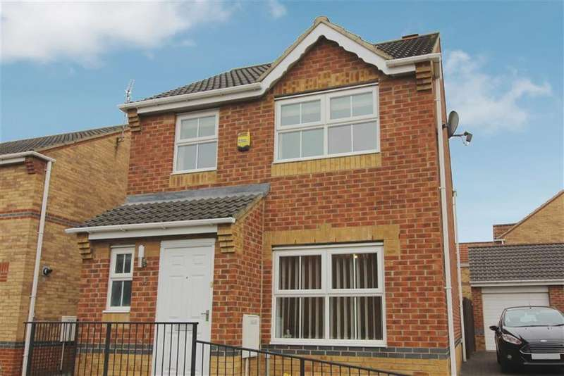 3 Bedrooms Detached House for sale in Kilburn Gardens, North Shields