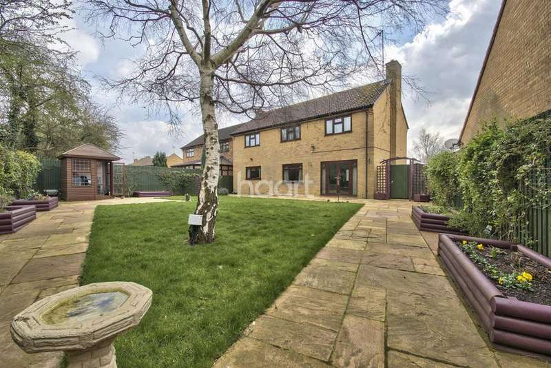 4 Bedrooms Detached House for sale in Tansy Close, West Hunsbury, Northampton