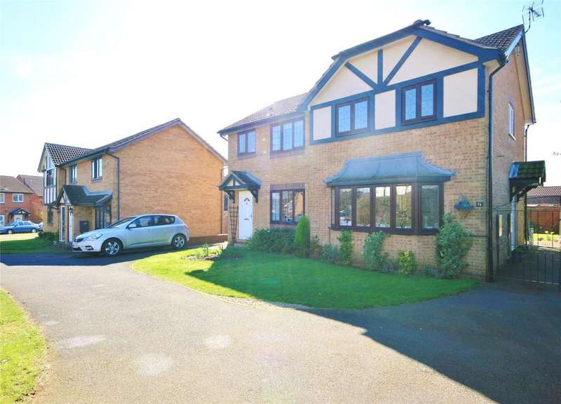 3 Bedrooms Semi Detached House for sale in Newcastle Close, Barrowby Gate, NG31