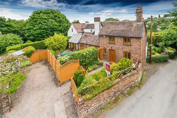 2 Bedrooms Cottage House for sale in 53 The Mines, Benthall, Broseley, Shropshire