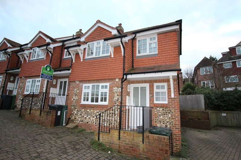 3 Bedrooms Semi Detached House for sale in George Stanley Mews Spring Close, Eastbourne, BN20