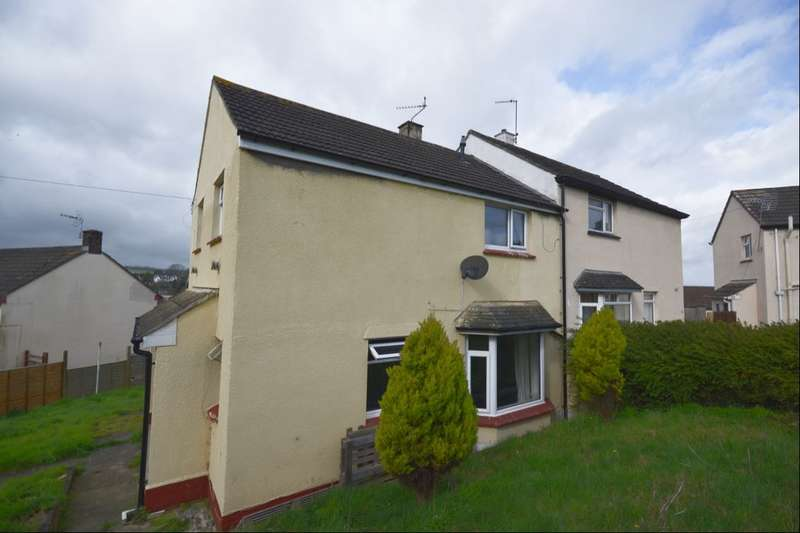 3 Bedrooms Semi Detached House for sale in Balmoral Close, Newton Abbot, TQ12