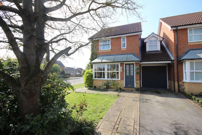 3 Bedrooms Link Detached House for sale in All Saints Rise, Warfield