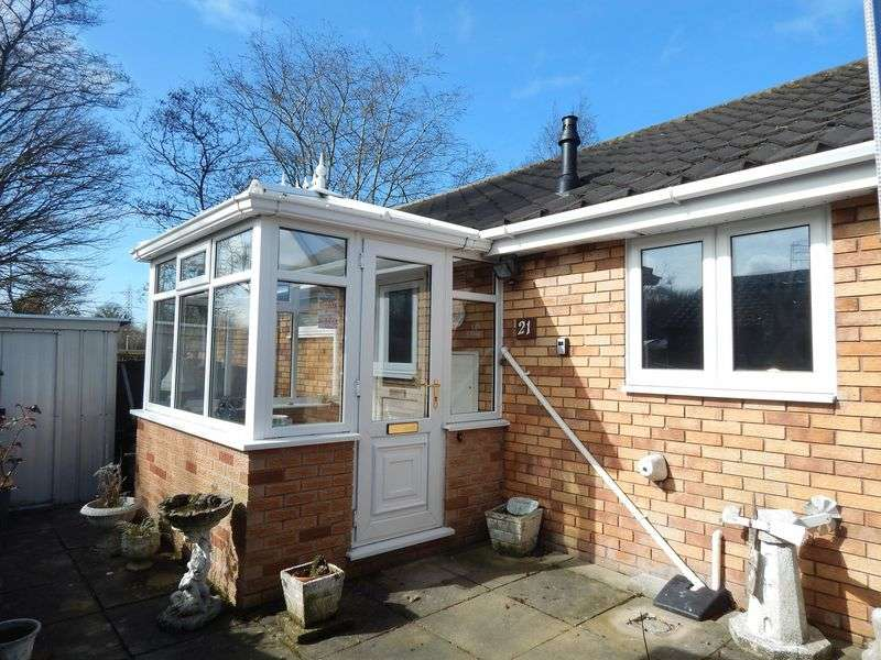 2 Bedrooms Semi Detached Bungalow for sale in Woodcroft Close, Penwortham, Preston