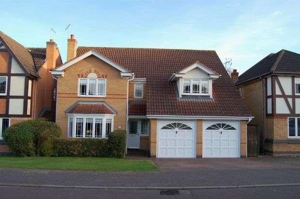 4 Bedrooms Detached House for sale in Launcelot Court, Duston, Northampton NN5 6LA