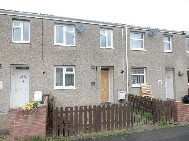2 Bedrooms Terraced House for sale in Lavender Close, Harold Hill, Romford, Essex, RM3 8AU