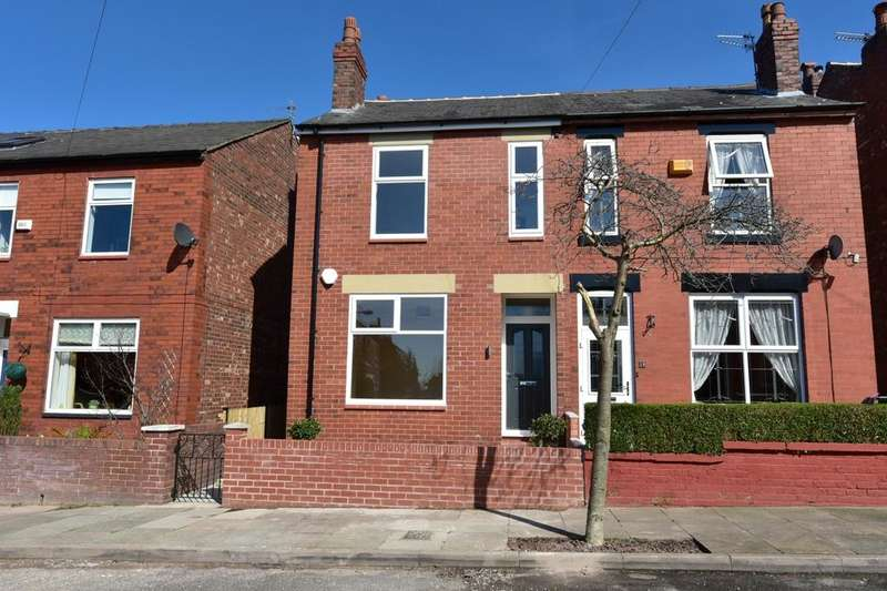 3 Bedrooms Semi Detached House for sale in Hythe Road, Cheadle Heath, Stockport, Cheshire, SK3 0JQ