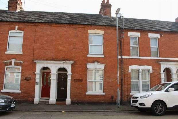 2 Bedrooms Terraced House for sale in Thirlestane Road, Far Cotton, Northampton NN4 8HD