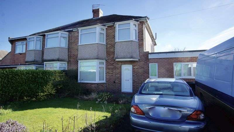 4 Bedrooms Semi Detached House for sale in MELVILLE GROVE High Heaton