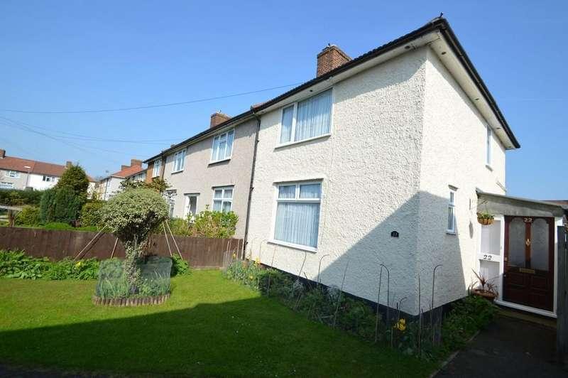 2 Bedrooms End Of Terrace House for sale in Powell Gardens, Dagenham