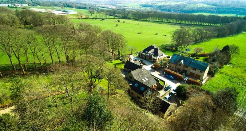 5 Bedrooms Detached House for sale in Rawdon Hall Lodge, Rawdon Hall Drive