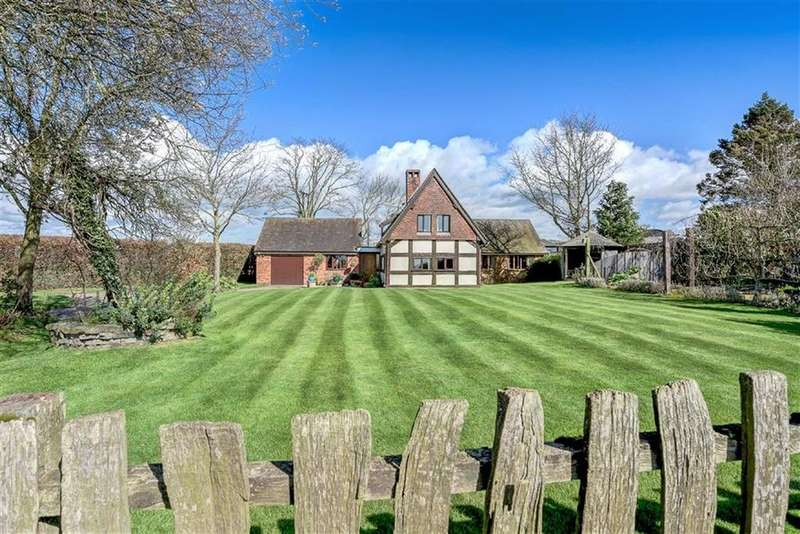 4 Bedrooms Detached House for sale in Withington, Shrewsbury