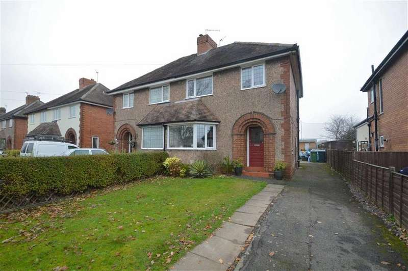 3 Bedrooms Semi Detached House for sale in Sundorne Road, Sundorne, Shrewsbury