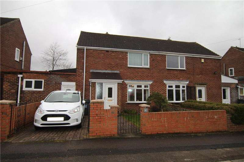 2 Bedrooms Semi Detached House for sale in Broome Road, Carrville, DH1