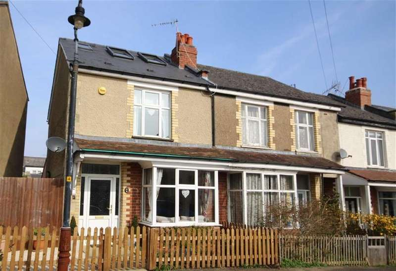4 Bedrooms Semi Detached House for sale in Fairfield Avenue, Leckhampton, Cheltenham, GL53