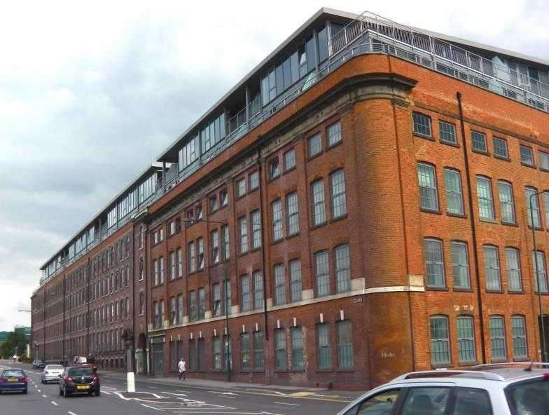 2 Bedrooms Flat for sale in The Hicking Building, Queens Road, Nottingham