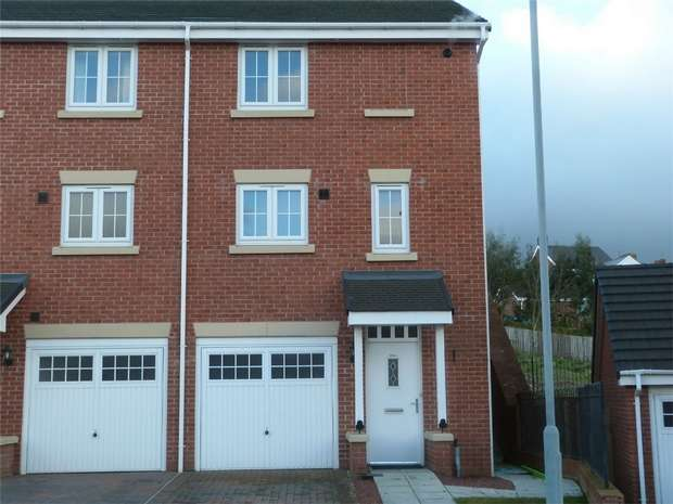 2 Bedrooms End Of Terrace House for sale in Holly Crescent, Sacriston, Durham